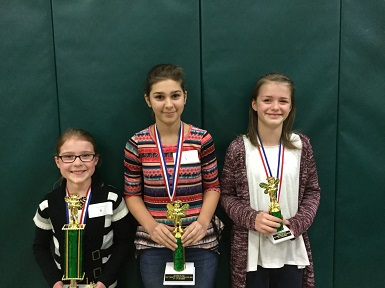 Spelling Bee 4-6 Division Finalist